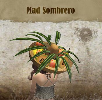 Julia's Mad Sombrero Hat - L$1 Gift