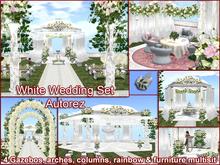 Complete White Wedding in Box - autoRez *PROMO