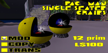 Pac-Man Single Chair (MOD Only) Boxed