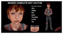 REGGIE COMPLETE BOYS AVATAR- SALE