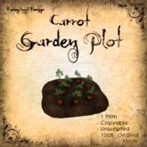 [DDD] Lil' Garden Plot - Carrots - 100% Mesh