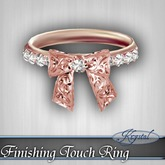 ::: Krystal ::: Finishing Touch Ring - Rose Gold