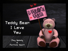 TAOX - 2 Teddy Bear I Love You Play Melody