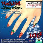 (DEMO) Mesh Nail (Red Spacial Xmas color)