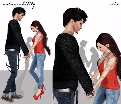 (.vix) vulnerability ~ couple pose