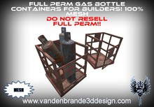 ~Full perm gas bottle containers 100% mesh!