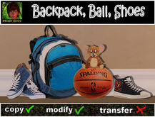 Backpack Ball Shoes