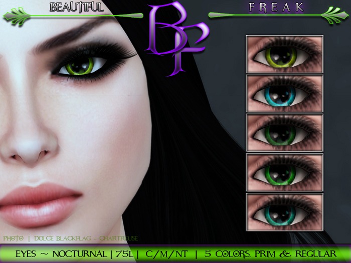 Beautiful Freak -  Nocturnal Eyes - ccfgt fatpack