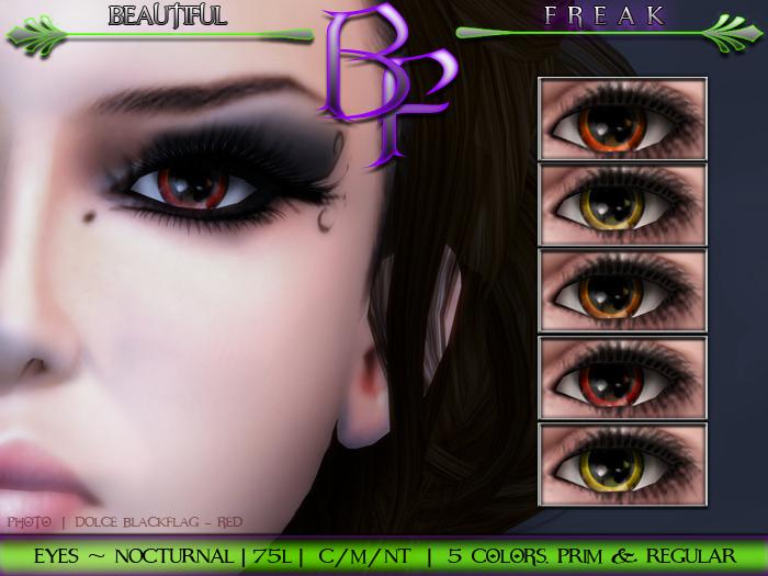 Beautiful Freak -  Nocturnal Eyes - cgory fatpack