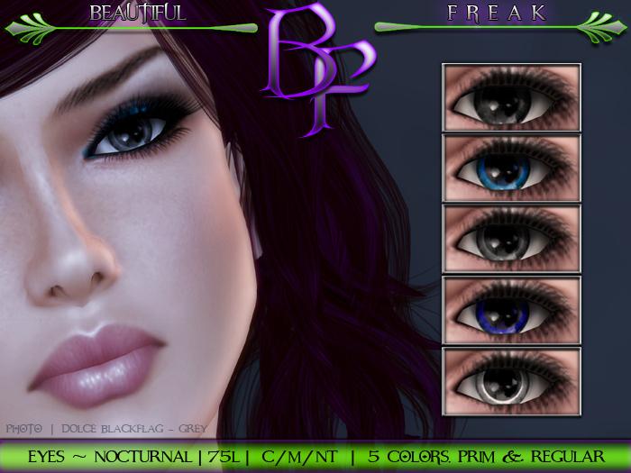Beautiful Freak -  Nocturnal Eyes - bbgrw fatpack