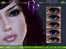 BF . Eyes . Evening .Chartreuse (free color)
