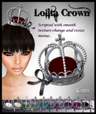 [Wishbox] Gothic Lolita EGL Crown - Fairy Tale Princess Fantasy Jewelry. Changes Colors!