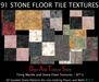 DATS Seamless Stone Floors, 92 Marble Floor Textures, Stone Tile Textures, Marble Tiles Full perm Textures SFT3
