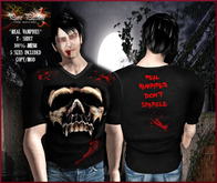 Pure Passion Mesh Male REAL VAMPIRES T-shirt in 5 sizes