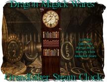 Dragon Magick Wares Grandfather Steam Clock Steam The Hunt VIII