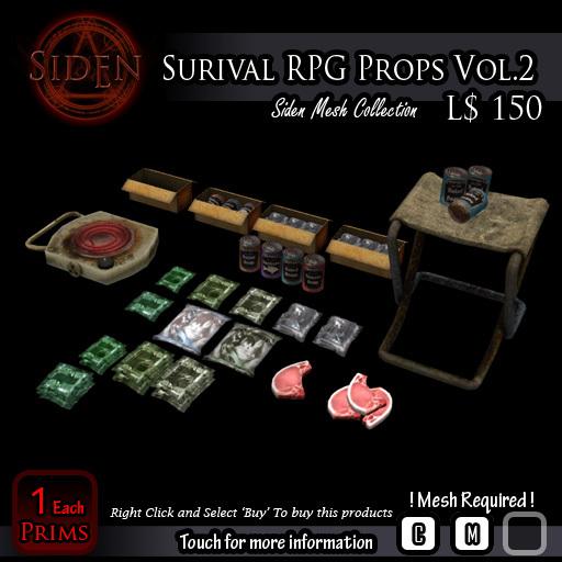 Survival RPG Props Vol.2