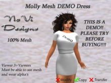 Molly Mesh Dress  - DEMO