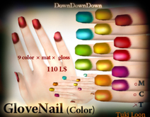Glove Nail_color set