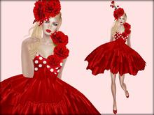 Boudoir -Carnations Dress