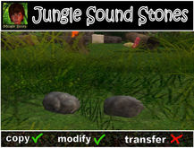 Jungle Sound Stones