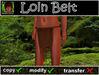 Loin belt