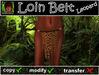Loin Belt Leo