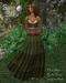 Boho Baku~ Mossy Crinkle Tiered Gypsy Skirt, Top & Belt