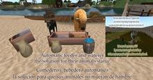 *G&S* automatic feeder-comedero automatico for G&S barrels