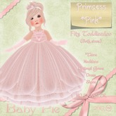*Baby Pie* Primcess - Pink Adorable Toddleedoo Girl's Princess Themed Ball Gown / Formal Dress