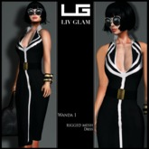 [LIV-Glam]WINTER2012 Posen Scrapbook Dress HUD[WearMe]