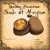 [DDD] Treasure Sack of Gold - 100% Mesh