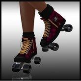 Latreia- Roller Skates Plaid
