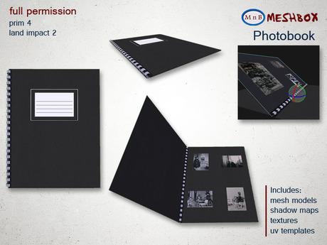 *M n B* Photobook (meshbox)