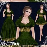 [K~*~S] Shannon - Gown - Scarlet (Silver)