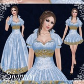 [K~*~S] Shannon - Gown - Ice (Gold)