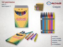 *M n B* Crayons (meshbox)