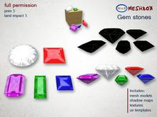 *M n B* Gem stones(meshbox)