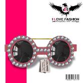 WEAR{*I <3 FashiOn*} Circular Pearls Shades Pink (MESH)