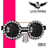 WEAR{*I <3 FashiOn*} Circular Pearls Shades Black (MESH)