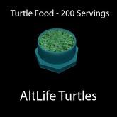 Turtle Food - 200 Servings (BOXED)