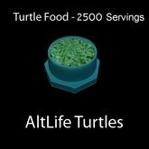 Turtle Food - 2500 Servings (BOXED)