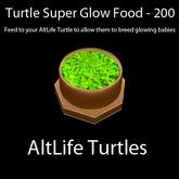 Turtle Super Glow Food - 200 Servings (BOXED)