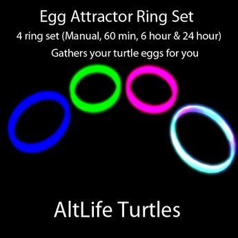 AltLife Turtle Egg Attractor Rings