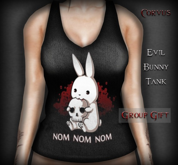 Corvus : Evil Bunny Tank
