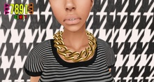 [7891.] Iso Necklace - Gold (W\Resize)