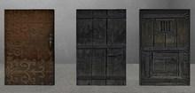 medieval rustic door 6 pack