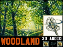 "EPIC 3D AUDIO - ""Wood Land Wilds"" Nature Sounds,Birds,Ambient,Tropical - Jungle Forest, Rustling Trees Animals in Stereo"