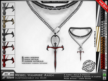 **RE** Rebel Vampire Ankh Necklace