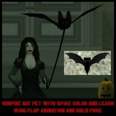 Animated Vampire Bat Pet