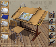 .:Standby Inc. - Miyazaki Drafting Table